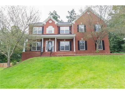 Lawrenceville Single Family Home For Sale: 1968 Tribble Valley Drive