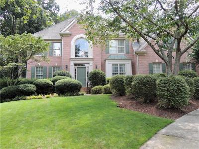 Johns Creek Single Family Home For Sale: 425 Lazy Wind Lane