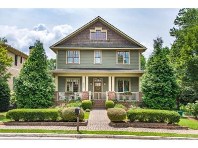Smyrna Single Family Home For Sale: 2870 Bernard Way SE