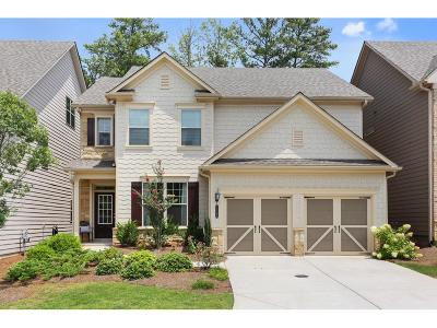 Roswell Single Family Home For Sale: 1100 Roswell Manor Circle