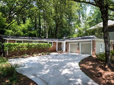 Brookhaven Single Family Home For Sale: 3706 Donaldson Drive NE