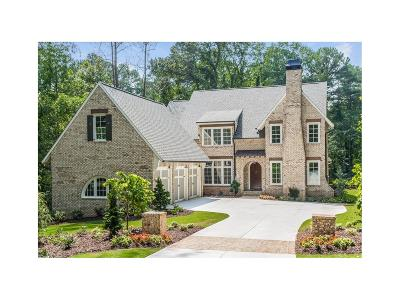 Sandy Springs GA Single Family Home For Sale: $1,499,000