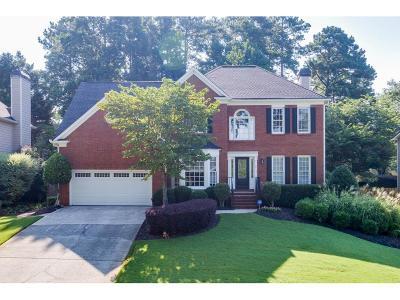Alpharetta Single Family Home For Sale: 5410 Ashwind Trace