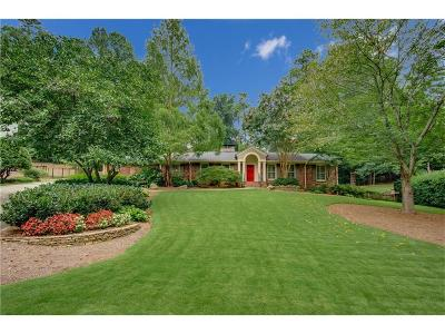 Sandy Springs Single Family Home For Sale: 55 Pine Lake Drive