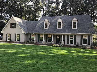 Kennesaw Single Family Home For Sale: 110 N Lakeside Drive