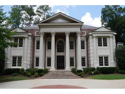 Tuxedo Park, Tuxedo Park Buckhead Single Family Home For Sale: 3750 Tuxedo Road NW