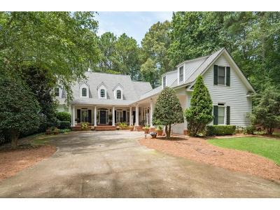 Milton Single Family Home For Sale: 1835 Highgrove Club Drive