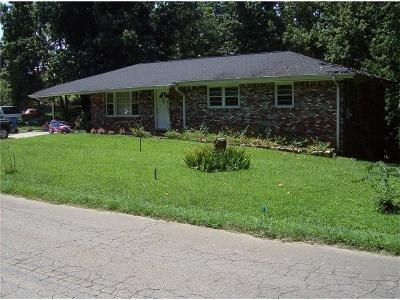Canton Single Family Home For Sale: 2542 Brick Mill Road