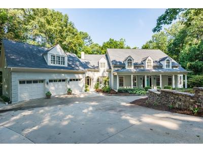 Sandy Springs Single Family Home For Sale: 180 Burdette Road