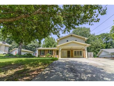 Dunwoody Single Family Home For Sale: 4943 Cambridge Drive