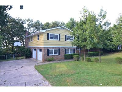 Single Family Home For Sale: 3998 Carter Drive NW