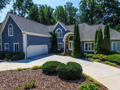 Cumming Single Family Home For Sale: 6825 Polo Drive