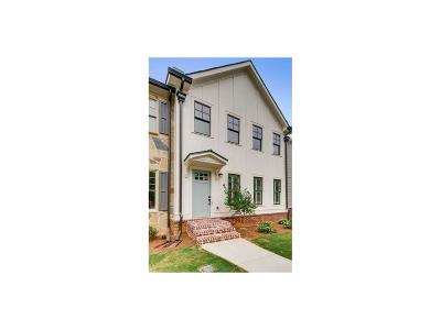Decatur Condo/Townhouse For Sale: 1218 Church Street