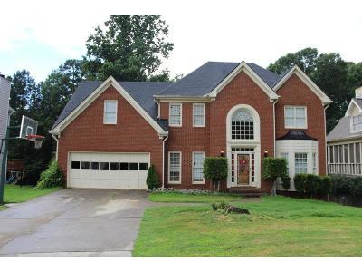 Buford Single Family Home For Sale: 955 Secret Cove Drive NE