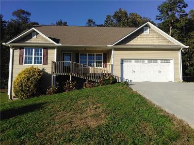 Calhoun Single Family Home For Sale: 280 Erica Lane SE