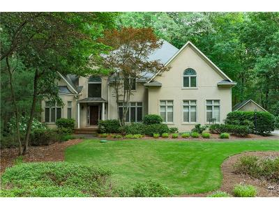 Kennesaw Single Family Home For Sale: 4696 Lock Ridge Court NW