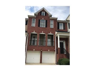 Smyrna Condo/Townhouse For Sale: 1423 Montclair Court SE #12