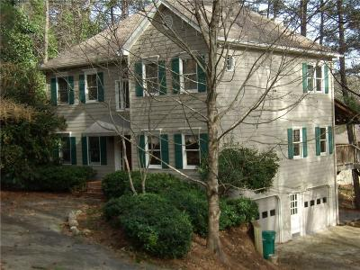 Kennesaw Single Family Home For Sale: 3188 Country Club Court
