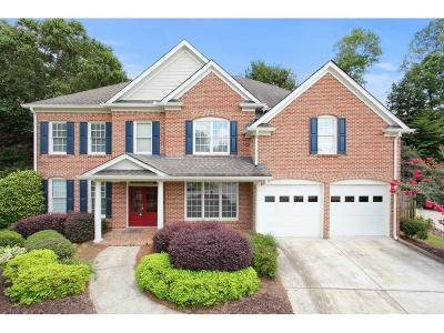 Roswell Single Family Home For Sale: 4570 Brigade Court NE