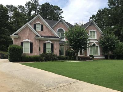 Acworth Single Family Home For Sale: 5997 Downington Point NW