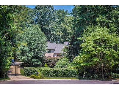 Sandy Springs Single Family Home For Sale: 210 Trimble Chase Court NE