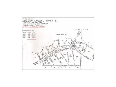 Jasper GA Residential Lots & Land For Sale: $21,000