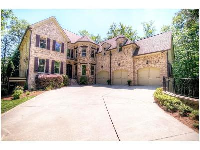 Milton Single Family Home For Sale: 440 Majestic Cove