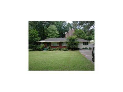 Brookhaven Single Family Home For Sale: 2916 Ashford Road NE