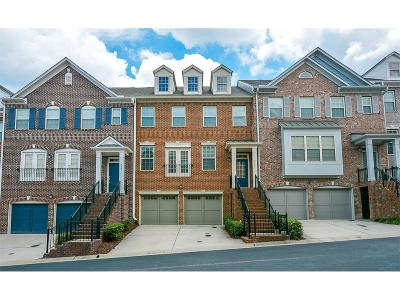 Brookhaven Condo/Townhouse For Sale: 2681 Derby Walk