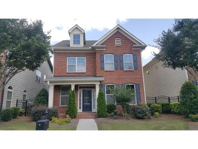Johns Creek Single Family Home For Sale: 10751 Bossier Drive