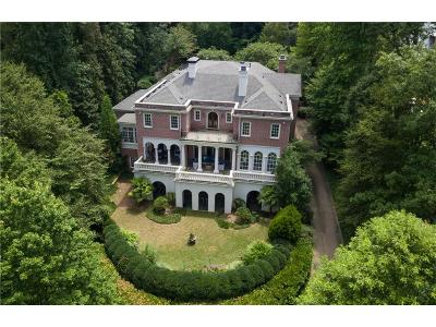Tuxedo Park, Tuxedo Park Buckhead Single Family Home For Sale: 3669 Tuxedo Road NW