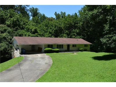 Single Family Home For Sale: 927 Fleetwood Circle Circle SW