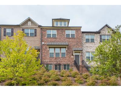 Johns Creek Condo/Townhouse For Sale: 5432 Cameron Parc Drive