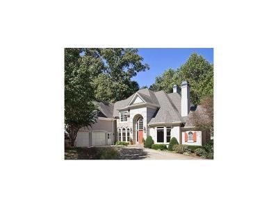 Marietta Single Family Home For Sale: 502 Reston Mill Lane SE