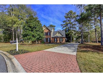 Peachtree City Single Family Home For Sale: 500 Charleston Close