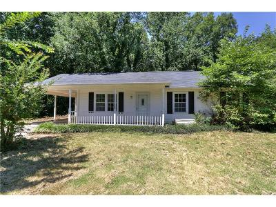 Adairsville Single Family Home For Sale: 157 Bradley Road SE