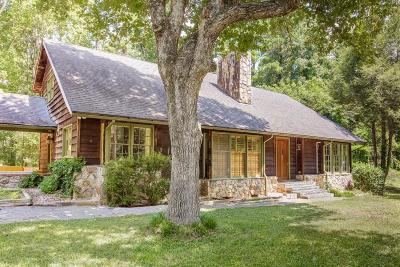 Roswell Single Family Home For Sale: 11875 Mountain Park Road