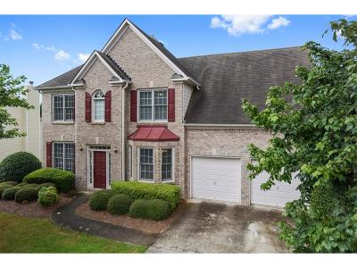 Suwanee Single Family Home For Sale: 3710 Ansley Park Drive
