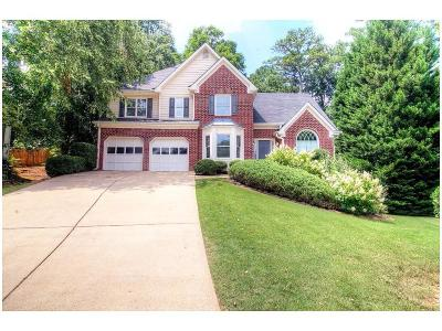Kennesaw Single Family Home For Sale: 2573 Gabriel Lane