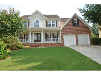 Kennesaw Single Family Home For Sale: 3433 Owens Landing Drive