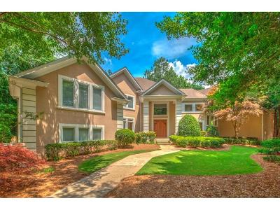 Alpharetta GA Single Family Home For Sale: $1,675,000