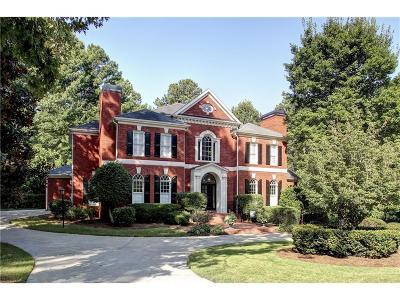 Woodstock GA Single Family Home For Sale: $650,000