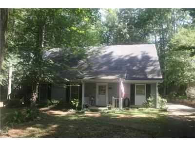 Roswell Single Family Home For Sale: 170 Elberta Cove
