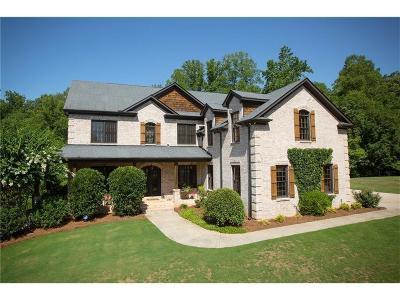 Alpharetta Single Family Home For Sale: 1615 Gantt Road