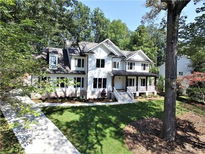 Sandy Springs Single Family Home For Sale: 6510 Bridgewood Valley Road