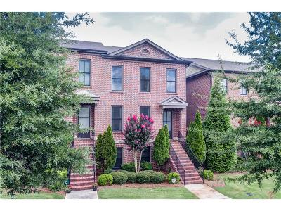 Roswell Condo/Townhouse For Sale: 2042 Heathermere Way