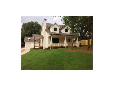 Decatur Single Family Home For Sale: 646 Jordan Lane