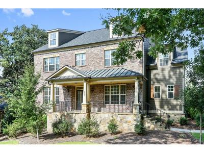 Cobb County Single Family Home For Sale: 3907 Central Garden Court