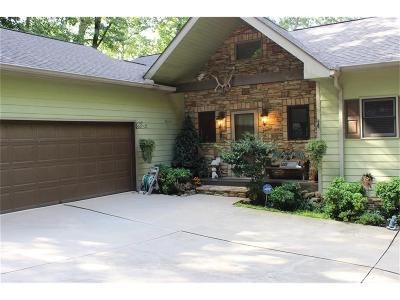 Single Family Home For Sale: 844 Oglethorpe Mountain Road