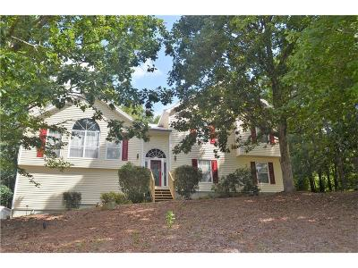 Woodstock Single Family Home For Sale: 453 Coolsprings Cove